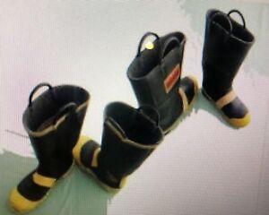 SERVUS/RANGER Firefighter Steel Toe Mid-sole Boots size
