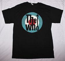 The Who-Mod Target Logo-Small Black  T-shirt