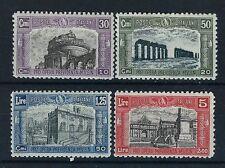 FRANCOBOLLI 1928 REGNO MILIZIA II SERIE NUOVA MNH+MLH Z/614