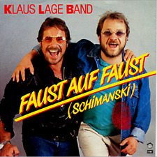 "Klaus Lage Band - Faust auf Faust (Schimanski) *7"" Single*"