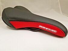 MCS BMX EXPERT RAILED SADDLE SEAT BLACK/RED