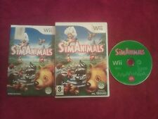 Nintendo Wii Sim animales Pal Uk
