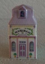 New listing 1989 Lenox Spice Village Fine Porcelain Marjoram House Spice Jar Unused Nice