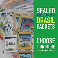 PANINI different sealed packets WORLD CUP 2014 BRASIL WC 14 | choose your packet