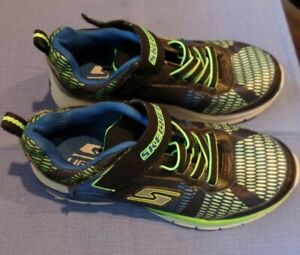 Skechers S-Lights Boys Athletic Shoes Size 1.5