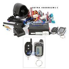 ScyTek Astra 4000RS-2W-C 2-way Remote Start Car Alarm with 2 Remotes (1 Chrome