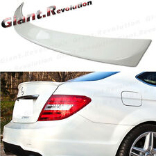 COATED COLOR A Look Trunk Tail Spoiler Fit 2012-14 Benz C204 Coupe C63 C300 C200