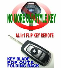 TRULY VIRGIN F-STYLE KEY FOR E60 E63 CAS2 CHIP KEYLESS ENTRY TRANSPONDER REMOTE