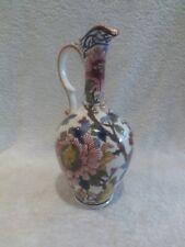 Aiguière faience Gien décor pivoines (1971) Gien pitcher