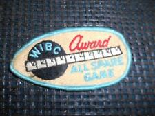 Old Vtg Women's Bowling Embroidered Patch WIBC Award All Spare Game Badge