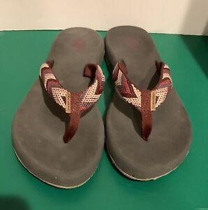Freewaters Flip Flop Sandals, Women's Size ??? 6 1/2 Check Measurements