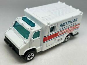 Hot Wheels American Ambulance Service No 1792 - VNM
