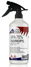 Alco Cleaner 70% Pure Isopropyl Rubbing Alcohol spray 500ml