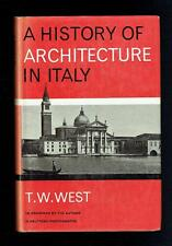 West; A History Of Architecture In Italy. University of London Press 1968 VG