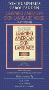 Learning American Sign Language Video VHS SEALED Tom Humphries Carol Padden