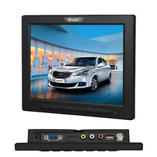 8 Inch Audio LCD 4 3 Color Monitor Screen HDMI VGA BNC AV USB for PC CCTV DVR F4