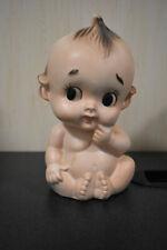 Vintage Kewpie Doll Planter Vase Head Vase 6 1/4 inch