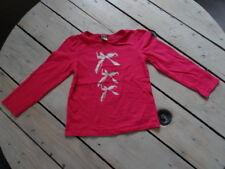 T-shirt manches longues rose fuchsia imprimé nœud TAPE A L'ŒIL Taille 5 ans