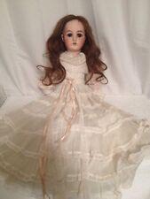 "Beautiful 23"" Vintage German Simon & Halbig Bisque Socket Doll"