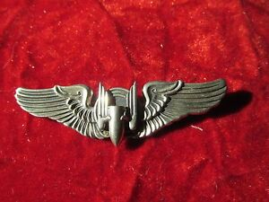 US Army Air Force AAF Aerial Gunner wing Huff collection Sterling N S Meyer NY