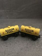 Thomas & Friends Wooden Railway Train Tank Engine  2 SODOR FUEL TANKERS
