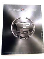 2001 Cadillac Deville 28-page Sales Brochure Catalog - Canada