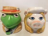 Miss Piggy and Kermit the Frog Coffee Cocoa Mugs Made by SIGMA Tastesetter Japan