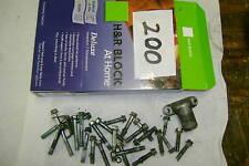 89 90 91 KAWASAKI KDX200 KDX 200 CASE BOLTS AND NECK