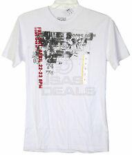 New Mens Converse One Star T-Shirt Doors Open ....  White  XL