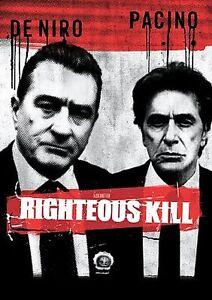 Righteous Kill (DVD, 2009) with Robert De Niro, Al Pacino - NEW, SEALED
