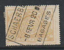 Belgium - 1897, 2f Buff Railway Parcel Post - Used - SG P108