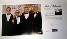 GEORGE LUCAS & FRANCIS FORD COPPOLA DUAL SIGNED 11X14 PHOTO PSA/DNA COA