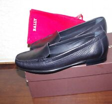 BALLY Mehary Black Leather Women Shoes Size:7,5