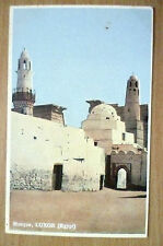 Postcard- MOSQUE, LUXOR (EGYPT)