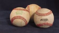 3 Diamond Baseballs Used