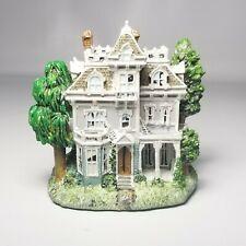 Liberty Falls Mini Porcelain Village Spooky Haunted House Model Ah227