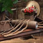 2-60Meter Natural Brown Jute Hemp Rope Twine String Cord Shank Craft String DIY