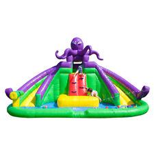 JumpOrange Kiddo Inflatable Monster Octopus Water Park Water Slide Party Jumper