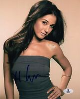 EMMANUELLE CHRIQUI SIGNED AUTOGRAPHED 8x10 PHOTO SLOAN ENTOURAGE BECKETT BAS