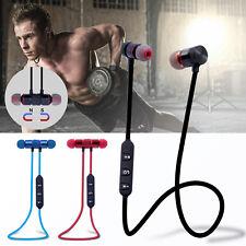 Auriculares Bluetooth 4.1 Inalámbricos Magnético Micrófono Cascos Deportive
