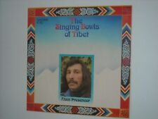 ALAIN PRESENCER The Singing Bowls Of Tibet LP SCARCE UK Press