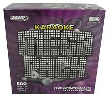 Zoom Karaoke Mega Pack 500 Tracks Songs Box Set - 26 Disc CD + G New Sealed