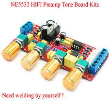 NE5532 HIFI Preamp Vorverstärker Tone Board Kits Treble Alto Bass Volume Control