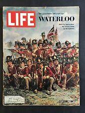 Life Magazine June 11 1965 Waterloo