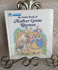 My Little Book of Mother Goose Rhymes Childrens Board Book