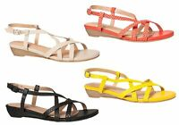 Hush Puppies Fifi Womens Strappy Leather Sandals - ShopShoesAU