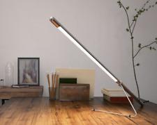 1 Belux Tubo LED Tischleuchte - Chrom (neu)