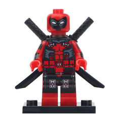 Ultimate Deadpool - Marvel Comics Lego Moc Minifigure Gift For Kids