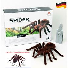 RC Ferngesteuerte spinne spider Kinder Spielzeug Fernbedienung Halloween Toys