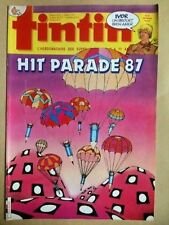Tintin n° 610 - 5/87     Hit Parade 87